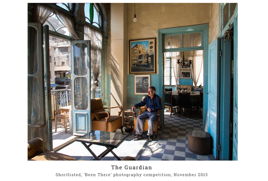 Shortlisted in The Guardian Been There November 2013 - Sunlight